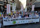 El Prya asistió a la manifestación en alicante contra la discriminación lingüística de Vicente Marza