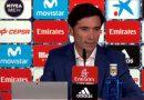 """Vídeo: Marcelino:""""Todo el cuerpo técnico estamos orgullosísimos de los jugadores"""""""