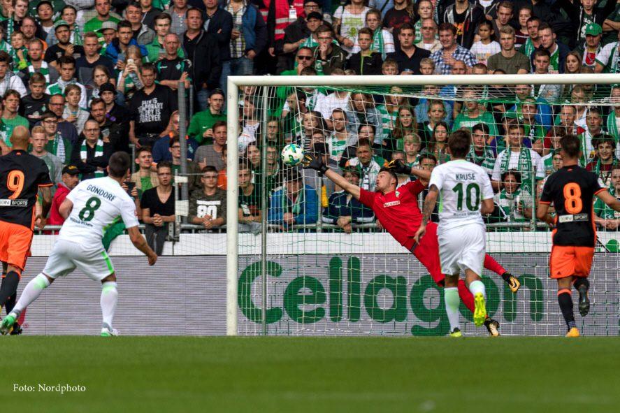 El Valencia CF se impone al SV Werder Bremen 1-2