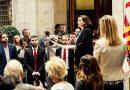 Ada Colau defiende la unidad del pueblo catalán ante la actitud del Estado en relación al 1-O