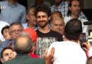 Vídeo: Pablo Aimar recibe un homenaje del Mestalla ante el Atlético