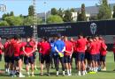 Vídeo: Última sesión de trabajo antes de viajar a Biarritz