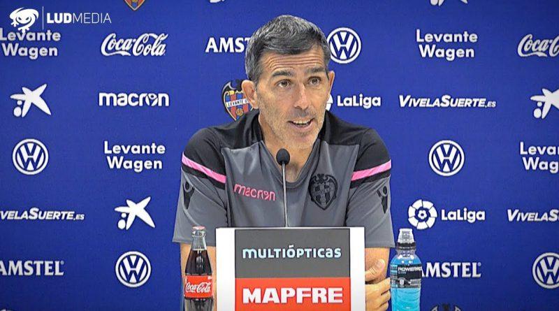 """Levante UD: Muñiz; """"El equipo está convencido de que lo vamos a conseguir"""""""
