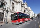 Joan Ribó, presenta los nuevos autobuses eléctricos e híbridos de la EMT