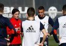 El Valencia CF, preparado para el partido ante el Málaga