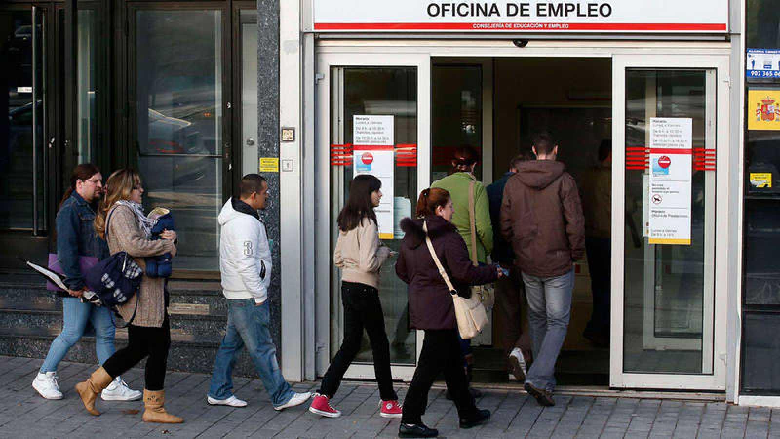 El paro subi en personas en el primer trimestre for Paro oficina virtual
