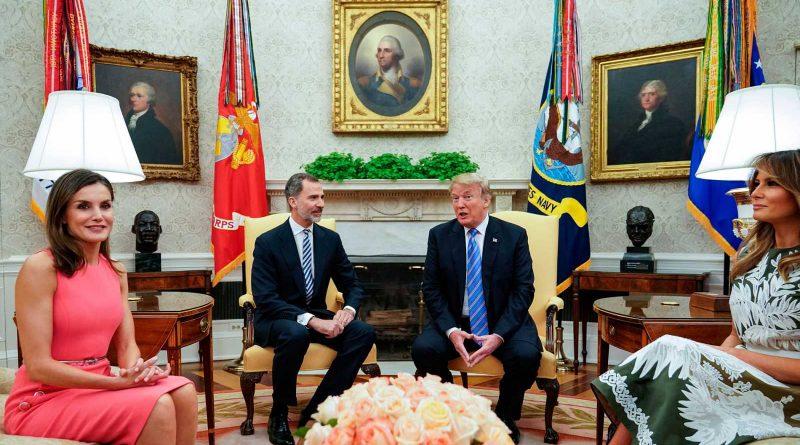 """Felipe VI asegura que España y EE.UU. comparten """"el aprecio por la democracia"""""""