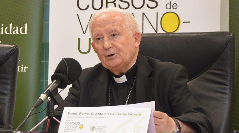 """Cardenal Cañizares: """"Los poderes públicos ignoran los beneficios de la enseñanza religiosa en la educación"""""""