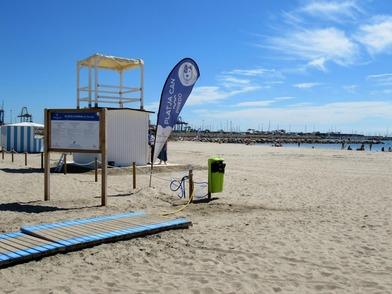 Así se realizará el control de afluencia en las playas