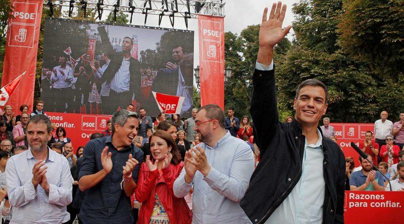 """Pedro Sánchez defiende sus primeros 100 días de """"justicia social"""" y pide gobernar hasta 2030"""