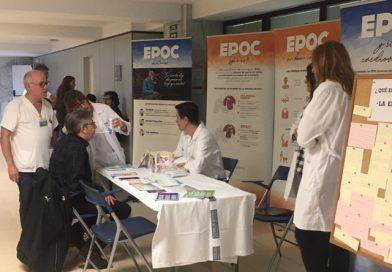 Salud: Personas con EPOC toman la voz en el Hospital Doctor Peset para dar a conocer su enfermedad