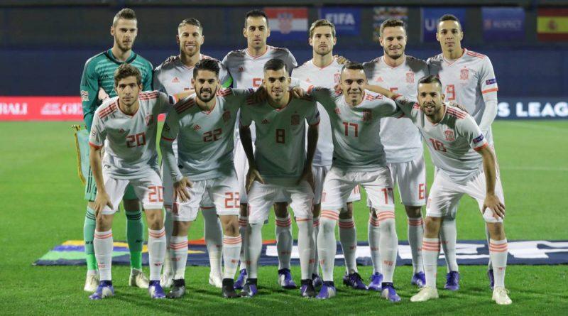 La selección española ha perdido en Zagreb (3-2) en el último minuto de partido ante Croacia (3-2)
