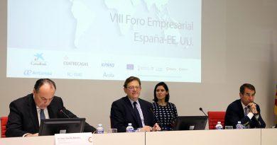 Puig defiende la importancia de afianzar la presencia valenciana en Estados Unidos