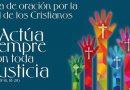 Católicos, anglicanos, luteranos y ortodoxos comparten desde hoy viernes en Valencia la Semana de Oración por la Unidad de los Cristianos