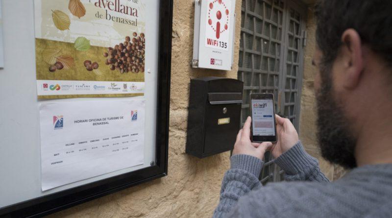 La Unión Europea proporcionará un bono para instalar puntos de acceso Wifi gratuito a 51 municipios valencianos