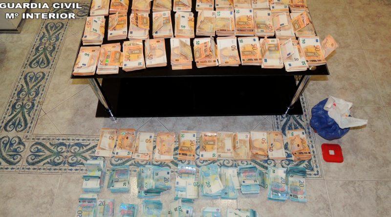 La Guardia Civil desmantela un punto de venta de droga a menores en Valencia