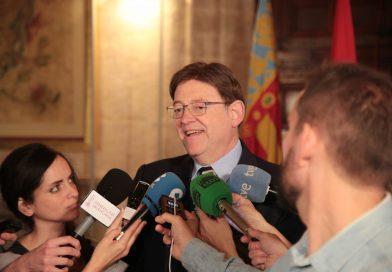 Ximo Puig: 'La Generalitat reafirma su compromiso con la mejora de la movilidad en Alicante con la puesta en marcha de la nueva Línea 5 del TRAM'