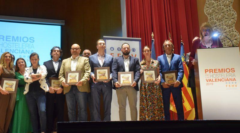 La FEHV entrega los premios de la hostelería valenciana 2019 en el Ateneo