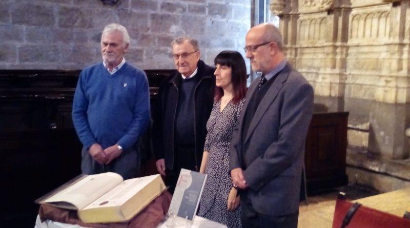 """Presentación del libro """"Incunabula in Archivo Sedis Valentinae Asservata"""""""
