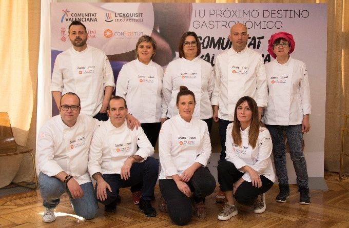 'Comunidad Valenciana: tu próximo destino gastronómico' arranca en Madrid con las estrellas Michelin Begoña Rodrigo, Rául Resino y Cristina Figueira