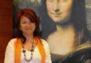 La Gioconda de Leonardo Da Vinci viste con seda valenciana