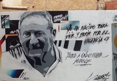 """Los """"grafiteros"""" muestran su cariño a Bernardo España Edo """"Españeta"""""""