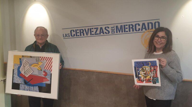 Las Cervezas del Mercado by BWK acogen constelaciones, grafitis, interpretaciones, retratos, polípticos y trípticos del artista valenciano Enric M. Catalá