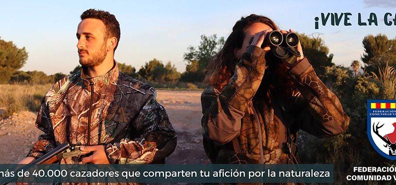 ¡Vive la caza!, la nueva campaña de la FCCV para promover la caza entre los más jóvenes
