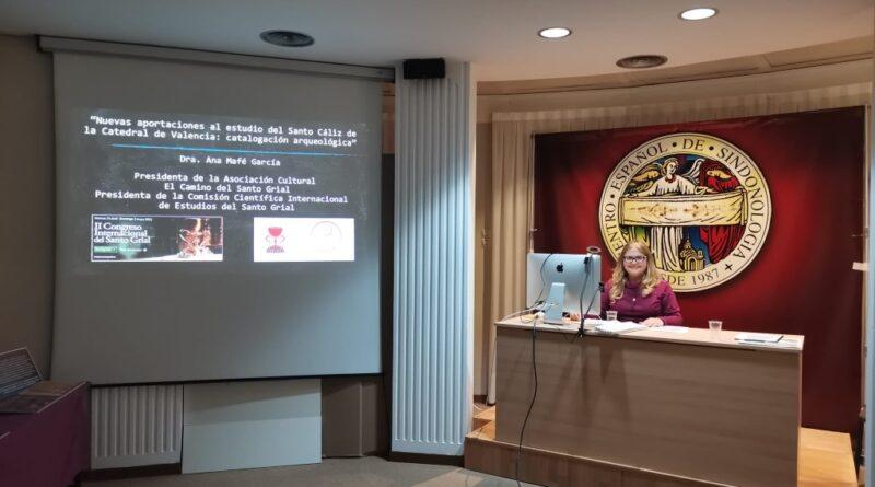 La tesis de la Dra. Ana Mafé García sobre el Santo Cáliz presentada en 2018 en la Universitat de València se corrobora de nuevo en el II Congreso Internacional del Santo Grial
